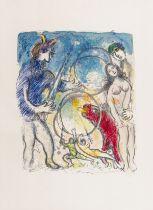 Marc Chagall (1887-1985) A la Femme, qu'est-it resté (Mourlot 536)