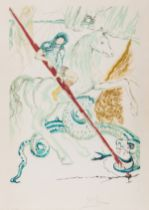 Salvador Dalí (1904-1989) St. George (The Lance of Chivalry) (Field 78-10-A)