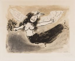 Marc Chagall (1887-1985) Femme-Oiseau (Mourlot 49)