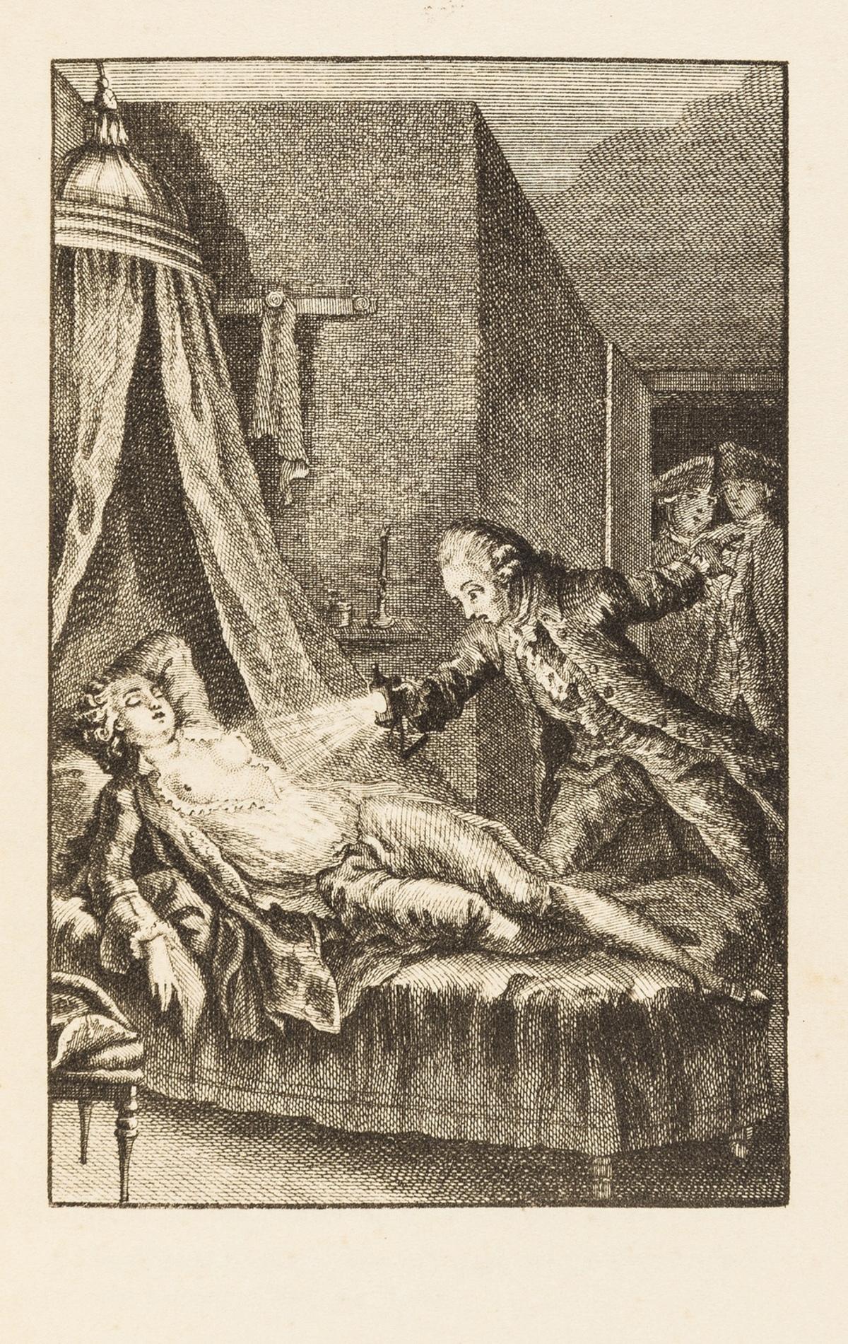 Erotica.- Bretonne (Rétif de la) Zeitgenössinnen: Abenteuer Hübscher Frauen, 2 vol., Munich, Georg …