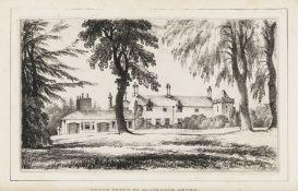 Scotland.- [Adam (William)] Remarks on the Blair-Adam Estate, [privately printed], 1834.