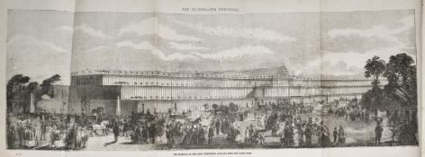 London.- Illustrated Exhibitor...the Principal Objects in the Great Exhibition of the Industry of …