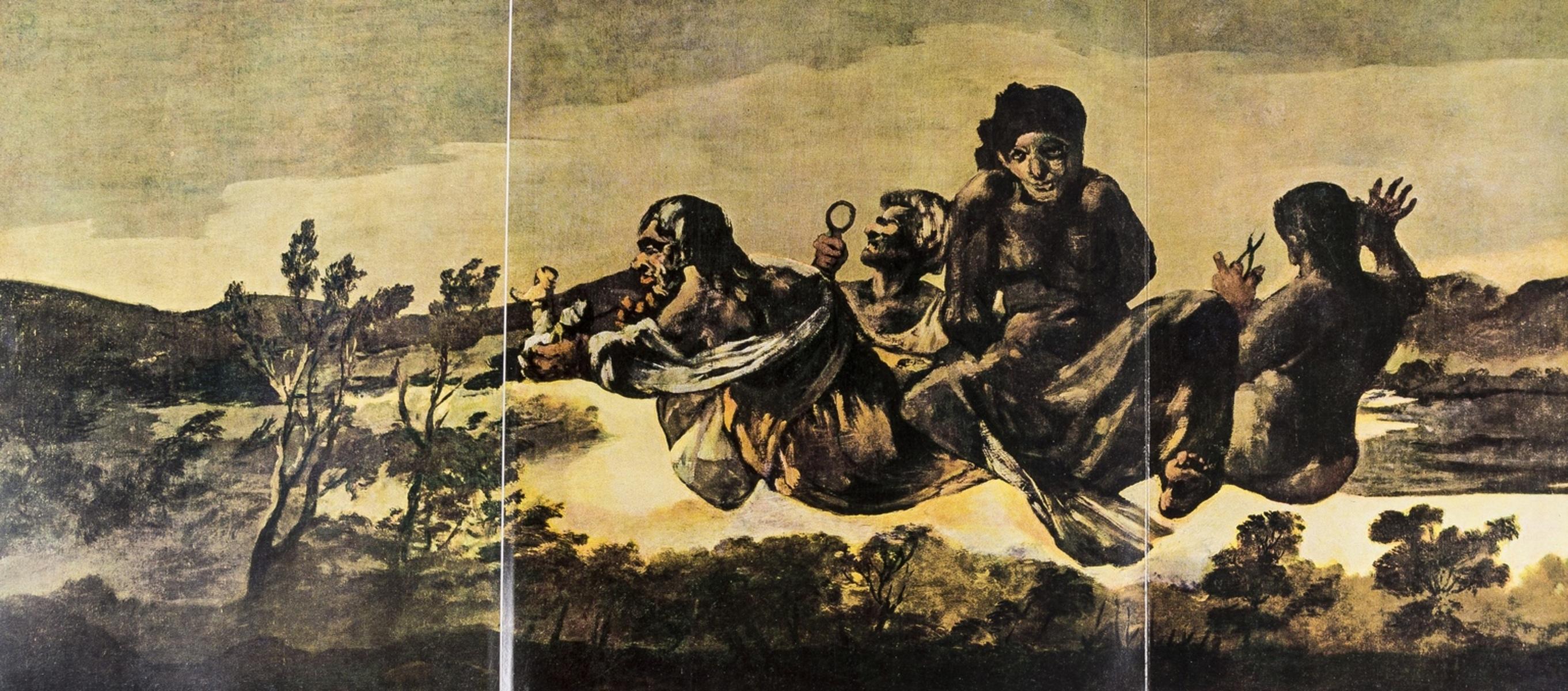 Canton (Francisco Javier Sanchez) Goya et ses Peintures Noires a la Quinta del Sordo, Milan & …