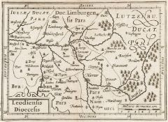 Europe.- Maps & town plans.- Blaeu (Willem Jansz.) Leodiensis Dioecesis, [c.1635]; and others, …