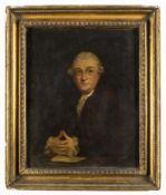 "Theatre.- Reynolds (Sir Joshua), After. Portrait of David Garrick (1717-1779), ""The Prologue …"