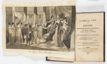 London.- Hunt (Leigh) The Town; its Memorable Characters and Events, 2 vol., first edition, 1848 & …