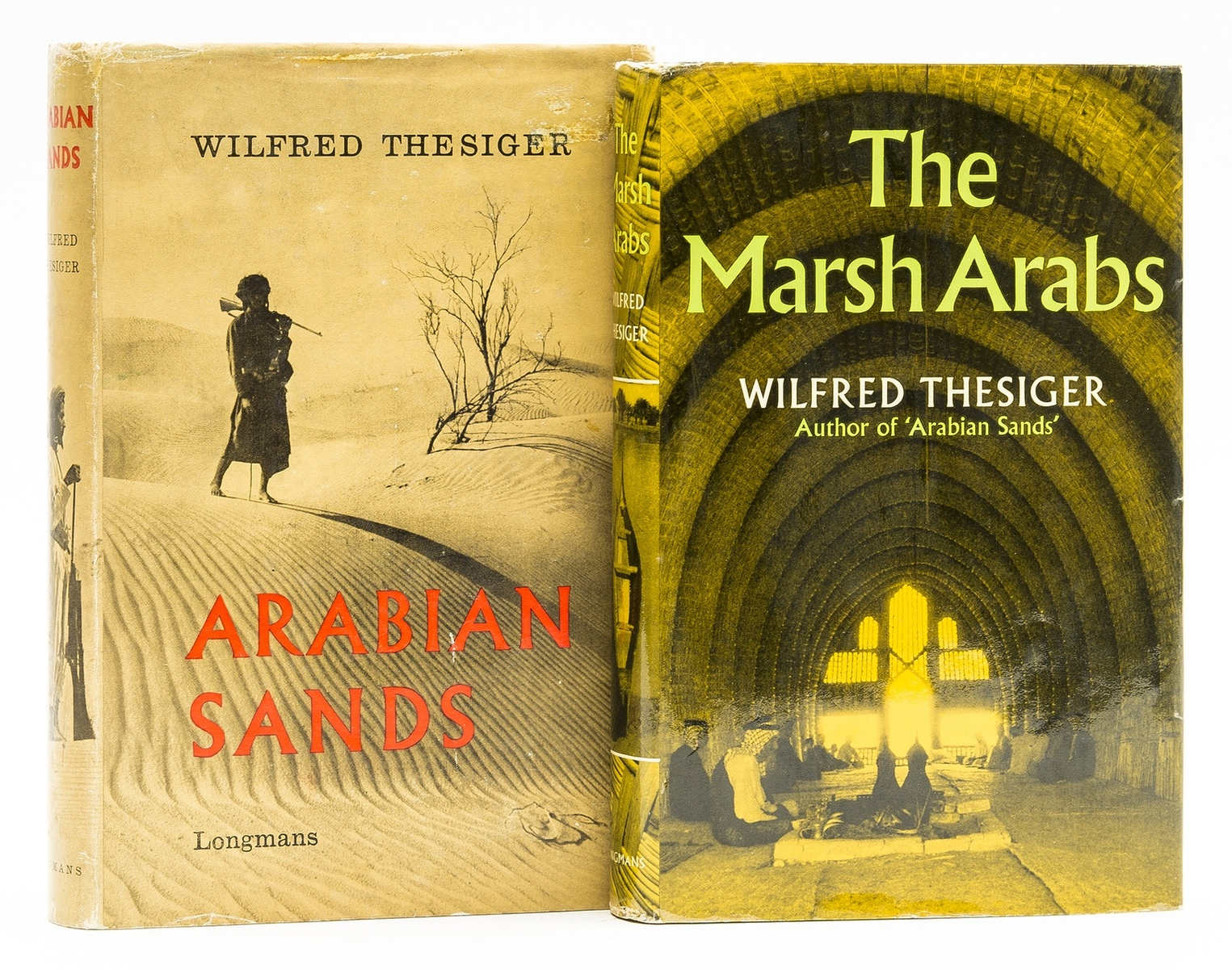 Middle East.- Thesiger (Wilfred) Arabian Sands, first edition, 1959; and another (2)