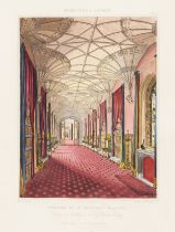 Wiltshire.- Rutter (John) Delineations of Fonthill and its Abbey, first edition, large paper copy, …