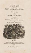 Bewick (Thomas).- Relph (Rev. Josiah) Poems..., first edition, Carlisle, J.Mitchell, 1798 & others …