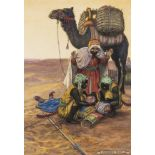 """Middle East.- Original illustration.- Ault (Norman) """"Said brought back to life by a chance …"""