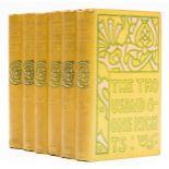 Brangwyn (Frank).- Thousand and One Nights (The); or, Arabian Nights' Entertainments, 6 vol., …