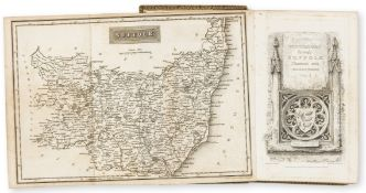 Suffolk.- [Cromwell (Thomas Kitson)] Excursions in the County of Suffolk, 2 vol., London, Witham & …