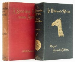 Africa.- Powell-Cotton (Maj. P.H.G.) In Unknown Africa, first edition, signed by the author, 1904; …