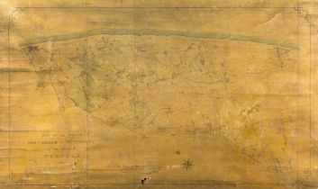 Norfolk.- Hewitt & Capon (Norwich Land Surveyors) Map of the coast from Cromer to …