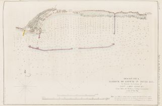 America.- Delaware.- Report on the Harbour of Refuge to be Constructed in Dover Bay, 1846.