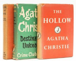Christie (Agatha) The Hollow, first edition, 1946; and 2 others (3)