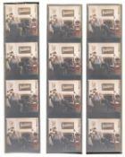Dahl (Roald).- Anonymous Roald Dahl [and Felicity Dahl], 35 negatives, 1990 (35).