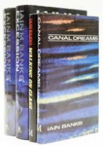 Banks (Iain) Walking on Glass, first edition, 1985; and others by the same (4)