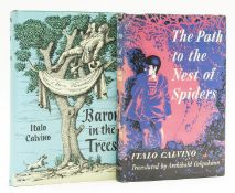 Calvino (Italo) The Path to the Nest of Spiders, first edition in English, 1956; and another (2)