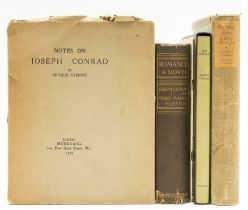 Conrad (Joseph) The Secret Agent, limited edition signed by the author, 1923; and 4 others, Conrad …