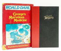 Dahl (Roald) Two Fables, one of 300 copies signed by the author, 1986; and a first American …