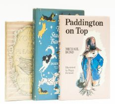 Bond (Michael) Paddington on Top, first edition, signed by the author, 1974; and 2 others (3)