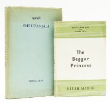 Devi (Indira) Shrutanjali, first edition, inscribed to Morwenna Donnelly from Dilip Kumar Roy …