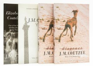 Coetzee (J.M.) Disgrace, uncorrected proof, signed by the author, 1999; and 3 others, uncorrected …