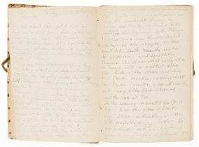 Acton (Harold).- Howard (Brian) Autograph journal of his stay in Florence with the Actons, with …