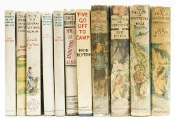 Blyton (Enid) Five Go Adventuring Again, first edition, 1943; and 10 others by Blyton, nearly all …