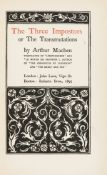 Beardsley (Aubrey).- Machen (Arthur) The Three Impostors or The Transmutations, first edition, …