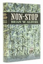 Aldiss (Brian W.) Non-Stop, first edition, 2 cut signatures of author loosely inserted, 1958.