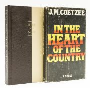 Coetzee (J.M.) In the Heart of the Country, first edition, signed by the author, 1977; and another …