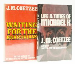 Coetzee (J.M.) Life & Times of Michael K, first edition, 1983; and another by Coetzee, first South …