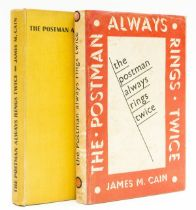 Cain (James M.) The Postman Always Rings Twice, first English edition, 1934; and another copy of …