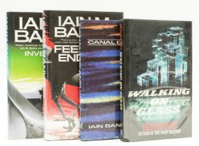 Banks (Iain M.) Walking on Glass, first edition, signed by the author, 1985; and 3 others by the …