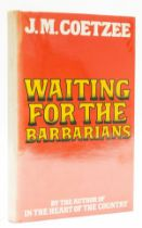 Coetzee (J.M.) Waiting for the Barbarians, first edition, signed by the author, 1980.