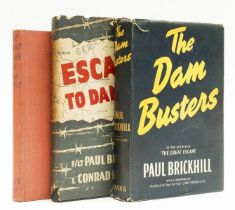 Brickhill (Paul) The Dam Busters, first edition, 1951; and 2 other first editions by the same(3)