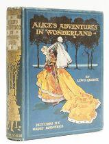"[Dodgson (Charles Lutwidge)], ""Lewis Carroll"". Alice's Adventures in Wonderland, 1908."