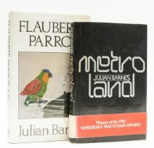 Barnes (Julian) Metroland, first edition, signed by the author, 1980; and another by Barnes, also …