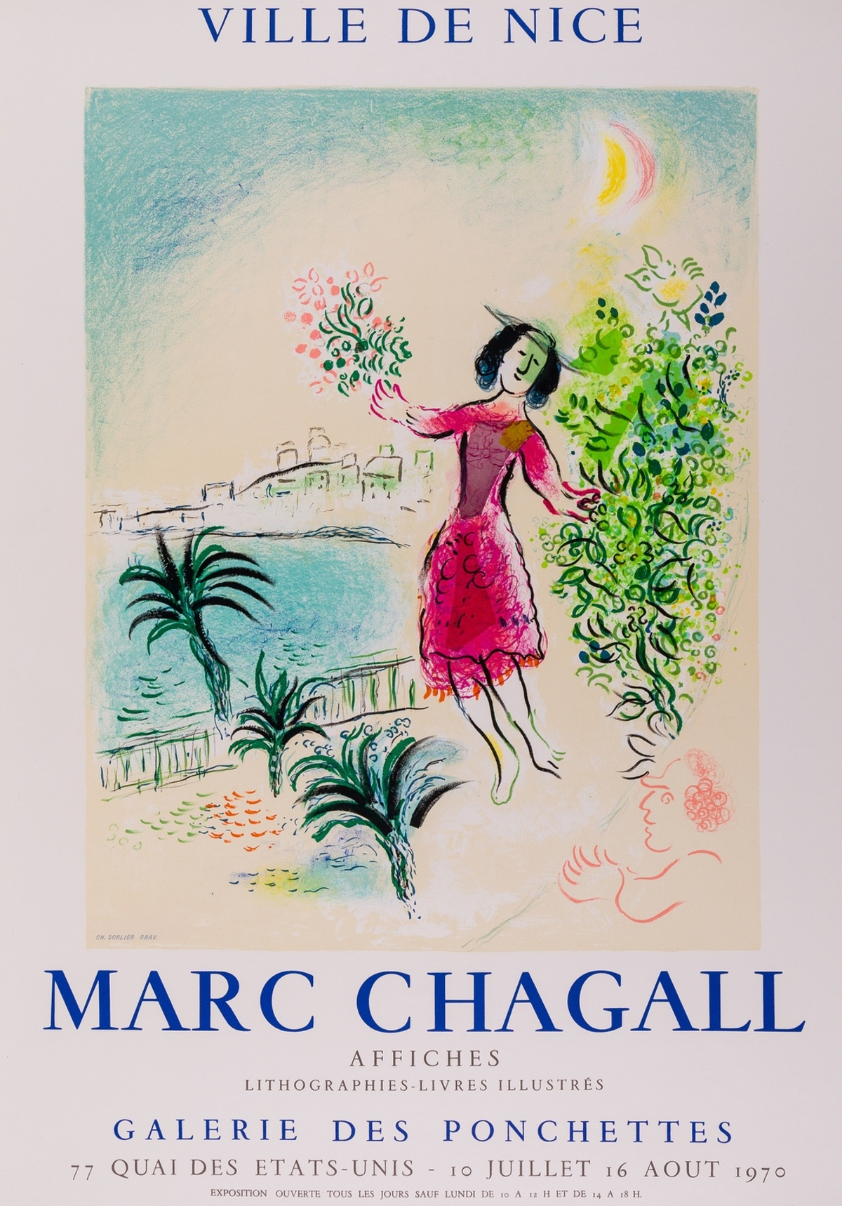 Marc Chagall (1887-1985) (after) Ville de Nice