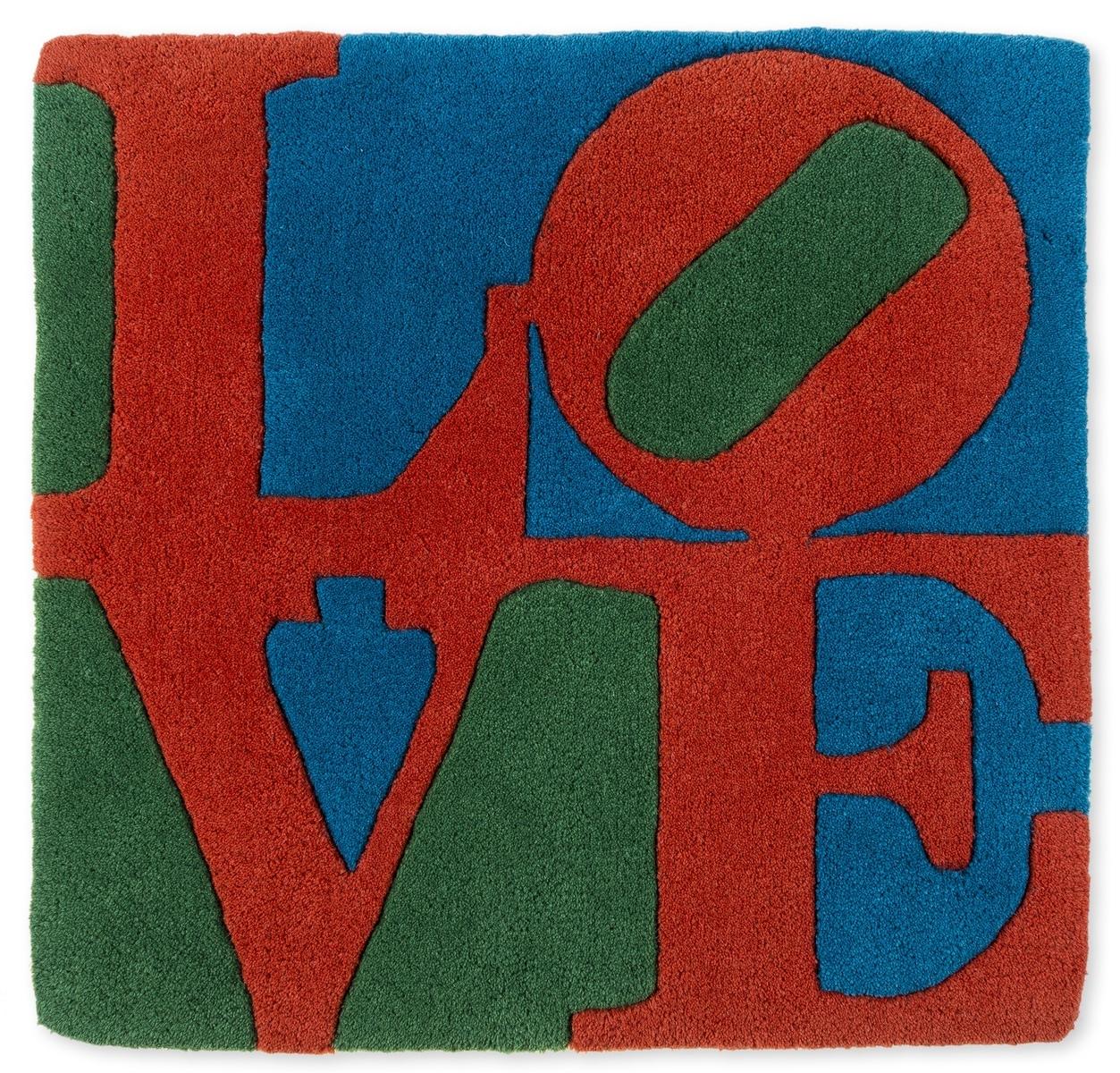 Robert Indiana (1928-2018) Chosen Love Rug