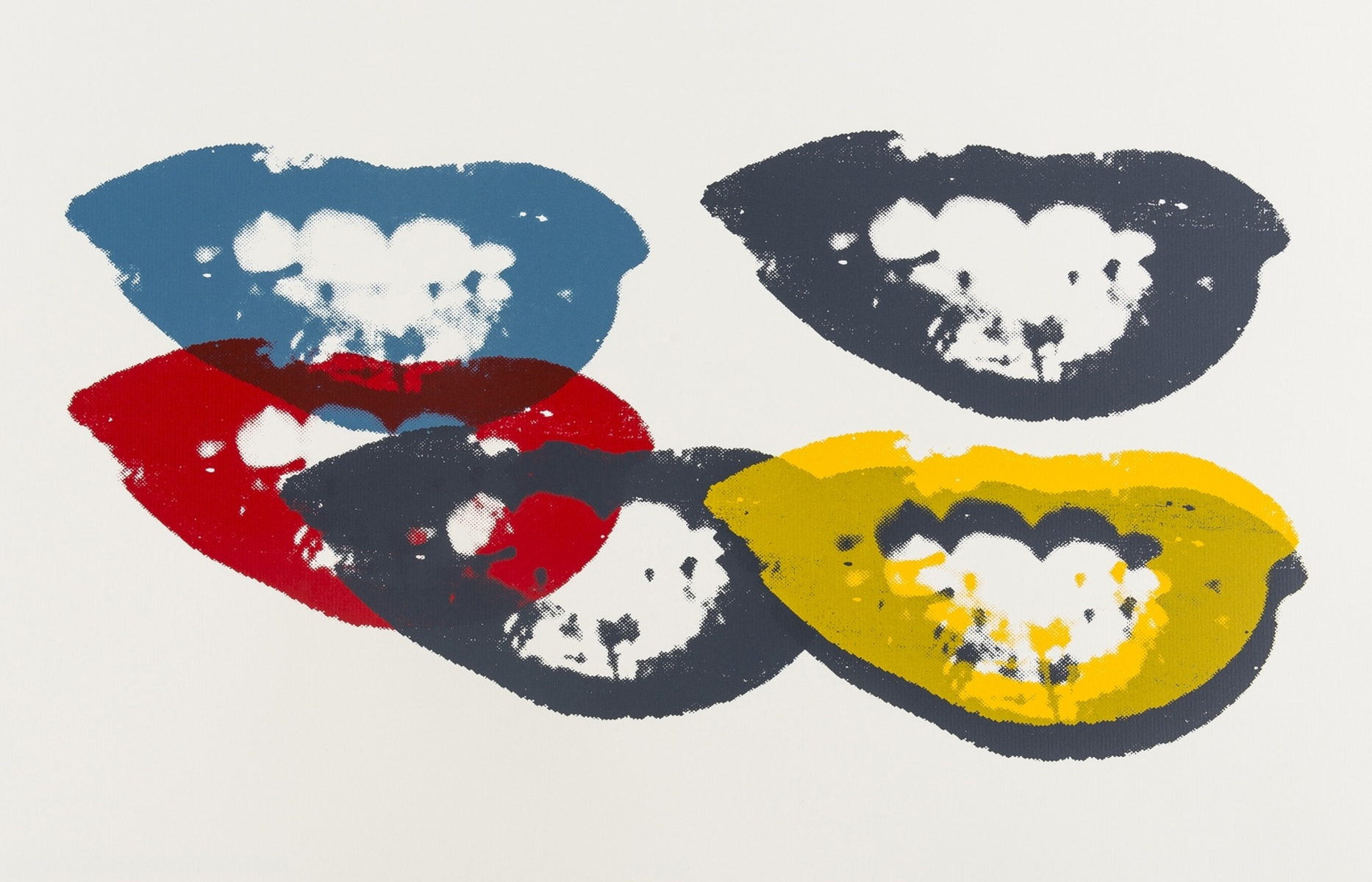 Andy Warhol (1928-1987)(after) I Love Your Kiss Forever Forever (Sunday B. Morning)