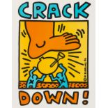 Keith Haring (1958-1990) (after) Crack Down! (Prestel 47)