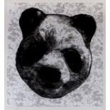 Charming Baker (b.1964) Flocked Panda # 7