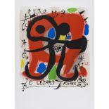 Joan Miró Le Lezard aux Plumes D'Or (Picazo 83)
