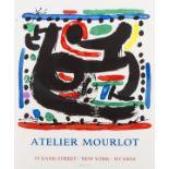 Joan Miro (1893-1983) Poster for L'Atelier Mourlot (Picazo 29, Mourlot 444)