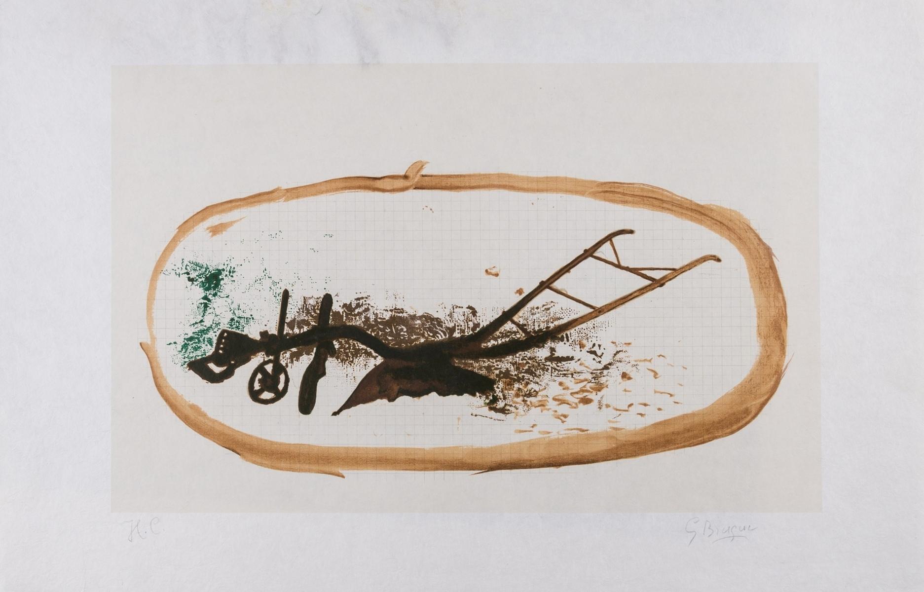Georges Braque (1882-1963) La Charrue (Vallier 150)