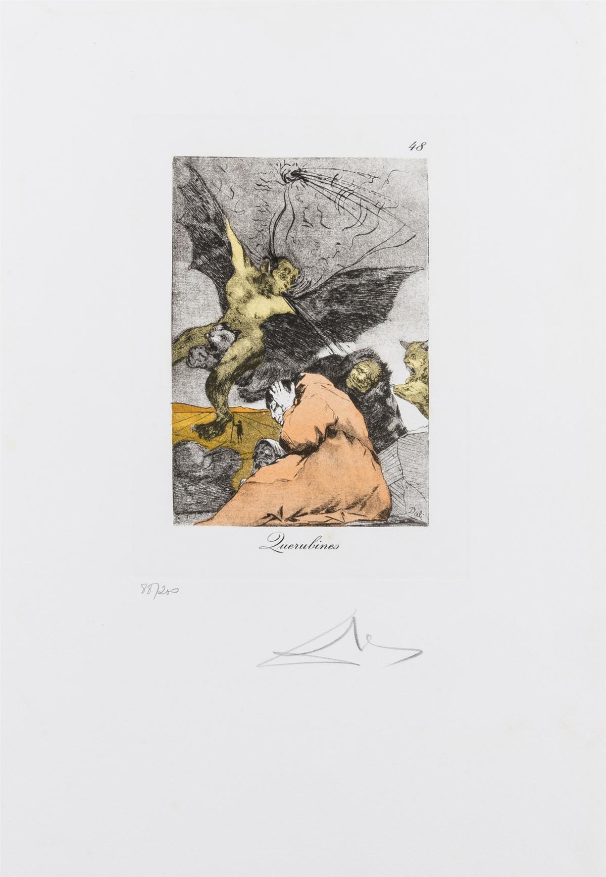 Salvador Dalí (1904-1989) Querubines (Field 77-3-32)