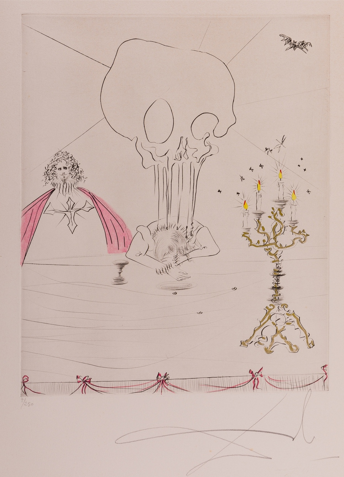 Salvador Dalí (1904-1989) Don Juan. Le Banquet (Field 70-6-B)